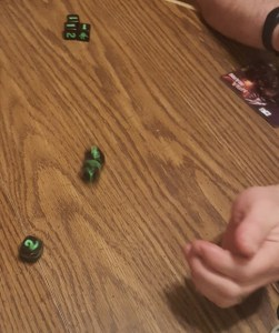 King of Tokyo Dice Roll