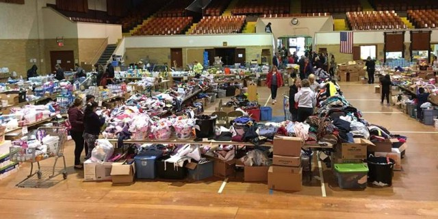 How to help after a natural disaster: donation location