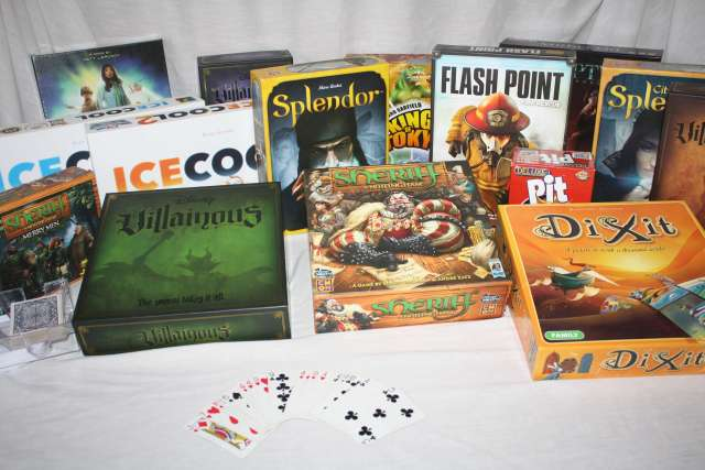 Games for Family Game Night