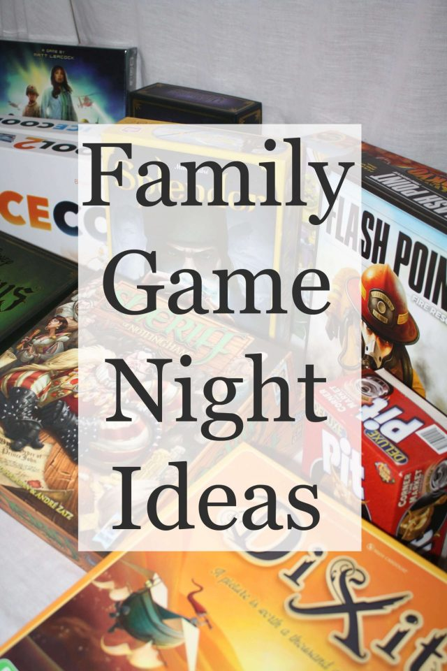 Family game night ideas