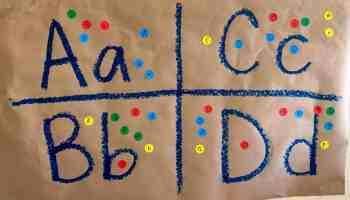 Letter Recognition Alphabet Sorting Activity