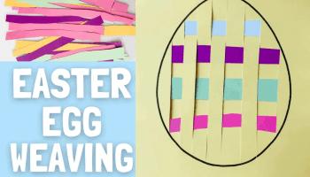 Easter Egg Weaving Free Printable