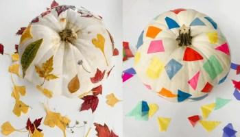 Pumpkin Decorating for Preschoolers