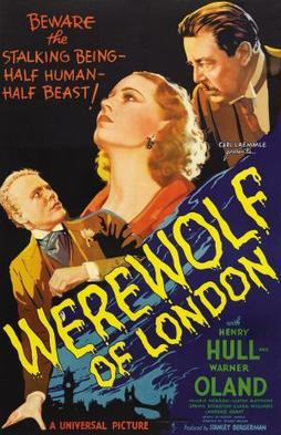 WEREWOLVES IN POP CULTURE: WEREWOLF OF LONDON  1935