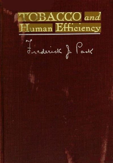 Pack_Tobacco and Human Efficiency