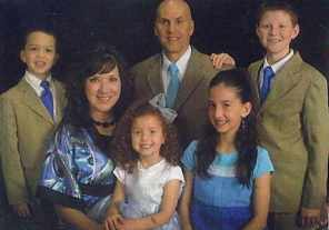 Our family with all four children.