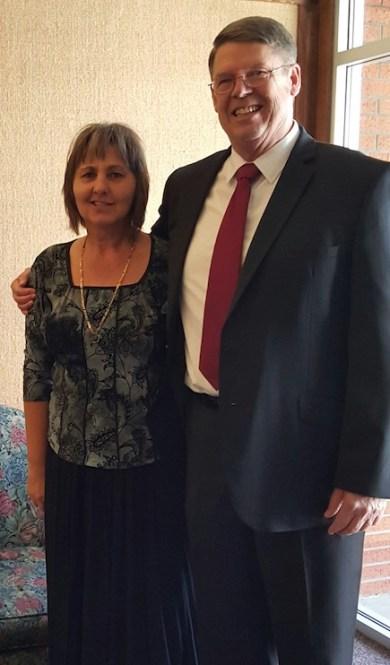 Dave and Petra Hansen