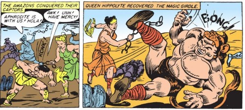 Hippolyte and Hercules: Abuse, Loss, and Reclaiming of Power