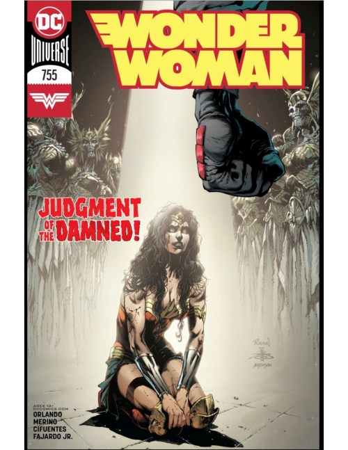 Everything You Believe is a Lie (A Review of Wonder Woman #755)
