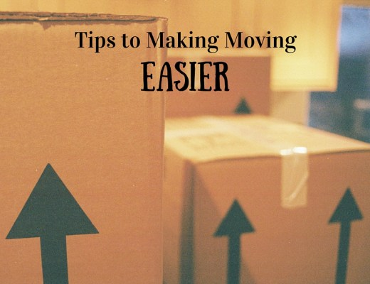 Tips to Making Moving Easier - www.discoveringyourhappy.com