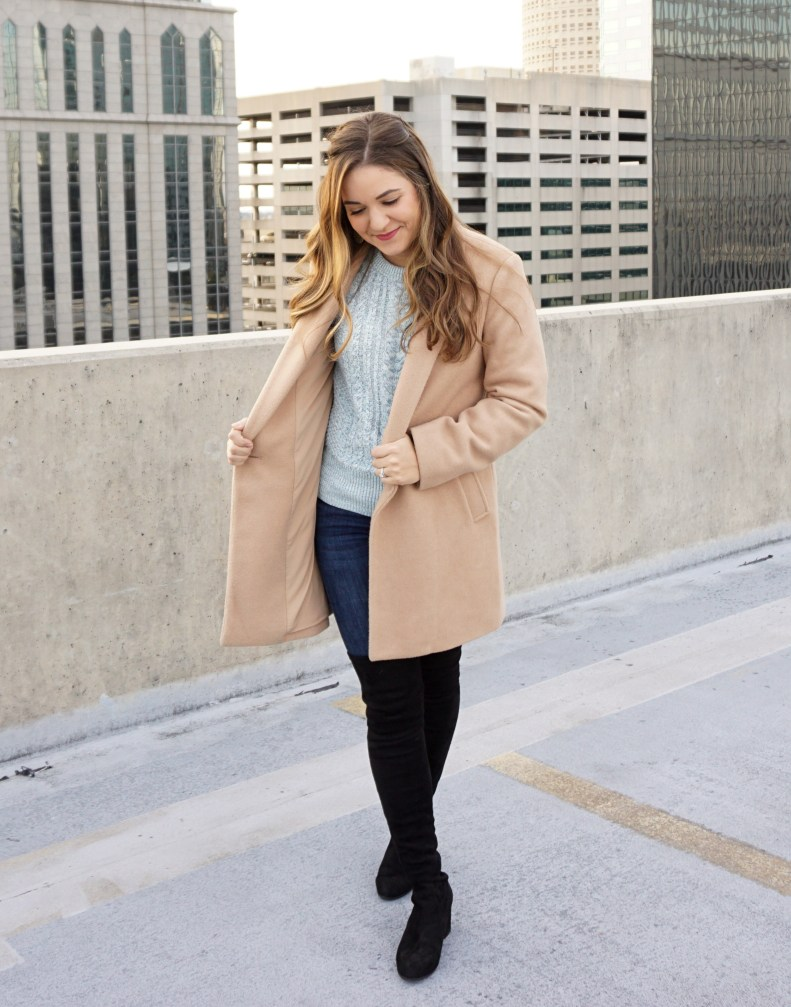 Bundled up in Blue - www.discoveringyourhappy.com