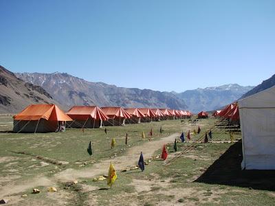 Camps at Sarchu