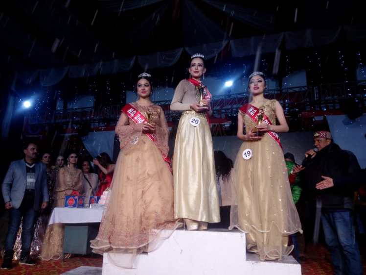 Manali Winter Queen Contest 2