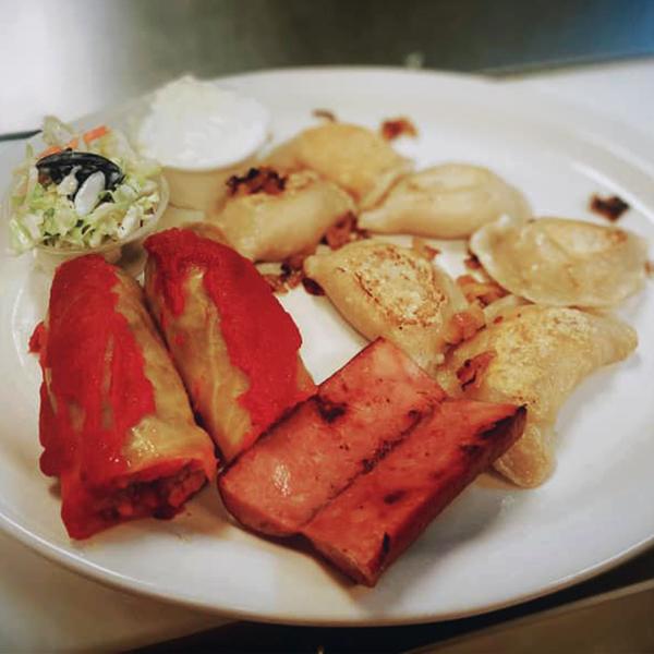 Combo Plate - Saskitoba Diner
