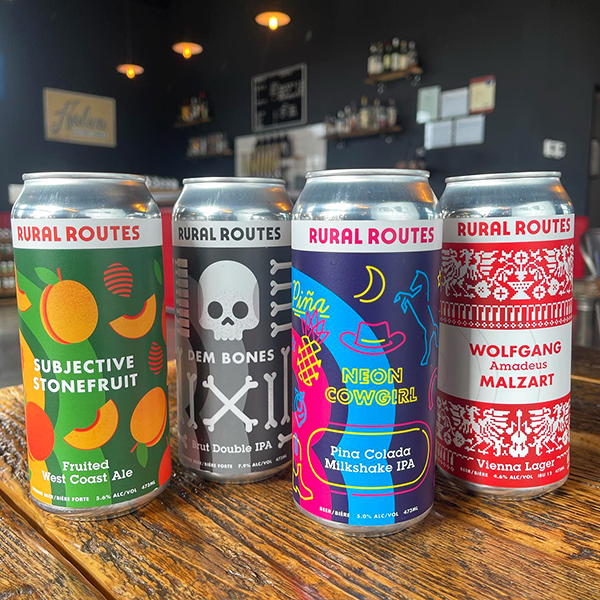 Craft Beer from Rural Routes Brewing Co.