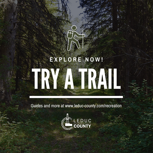 Try a Trail in Leduc County
