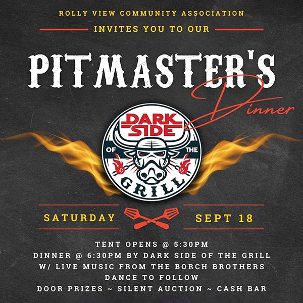 Pitmaster's Fundraiser Dinner - Sep 18, 2021