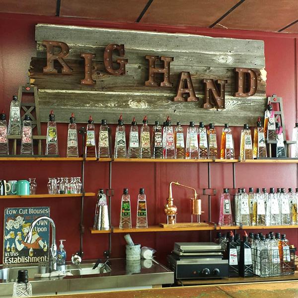 Savour Craft Spirits at Rig Hand Distillery