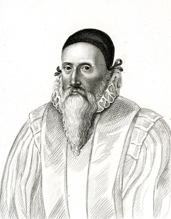 PR737 Engraved print - Portrait of John Dee engraved by R Cooper, c1800 - RCP cropped