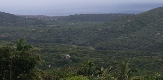 A view of the Belham Valley from the Montserrat Volcano Observatory. (Discover Montserrat Photo)