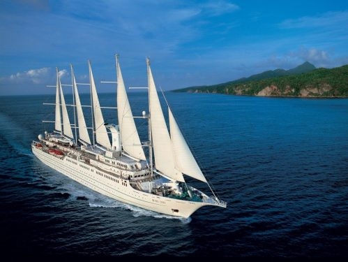 Wind Surf, one of the Windstar Cruises ships.