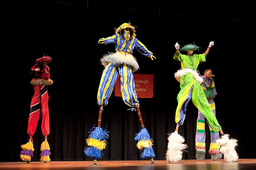 Brooklyn Jumbies, Moko jumbie-Carnival style