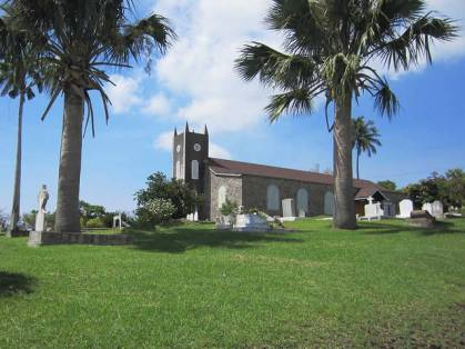 View of Anglican Church in St. Peters.