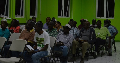 Taxi Drivers and tour guides met with MVO, DMCA, and RMPS reps on Thursday, March 31, 2016 to discuss operating tours into the Exclusion Zone.