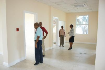A walk through of the new building.