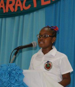 2016 Winning Grade 5 Speaker Khayla West
