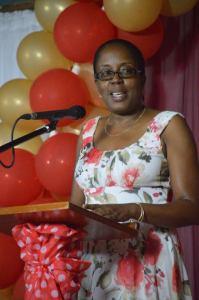 Acting Permanent Secretary Dorothea Hazel. (Nia Golden Photo)