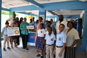 Rotary Club of Montserrat District Grant Award