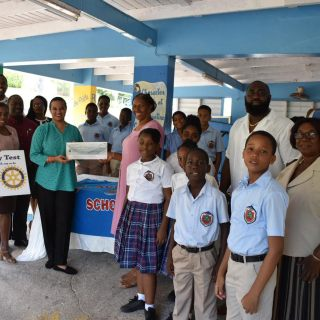 Rotary Club of Montserrat District Grant Award
