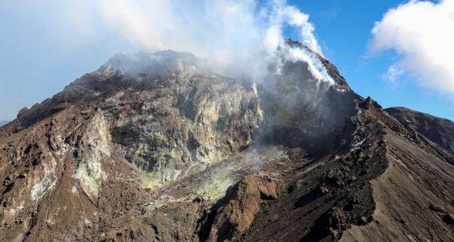 top of Soufriere Hills Volcano
