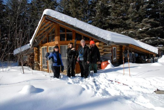 Winter fun at Ness Creek Festival Site