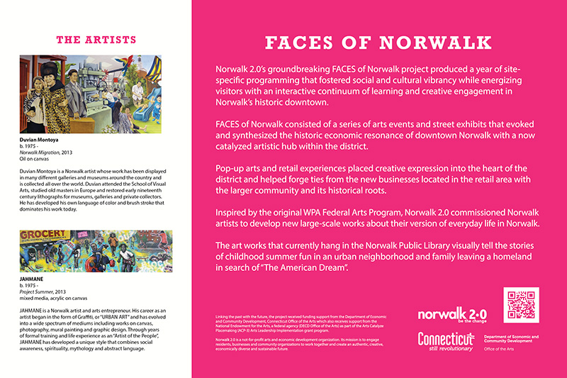 Discover Norwalk Fence Art Project