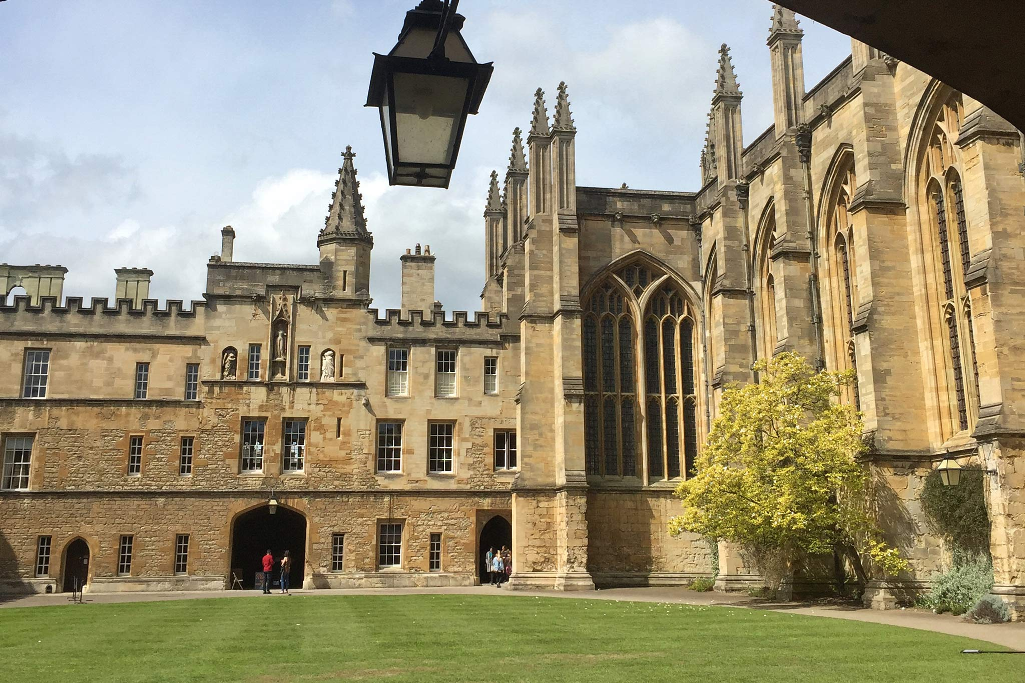 oriel college and st mary the virgin oxford