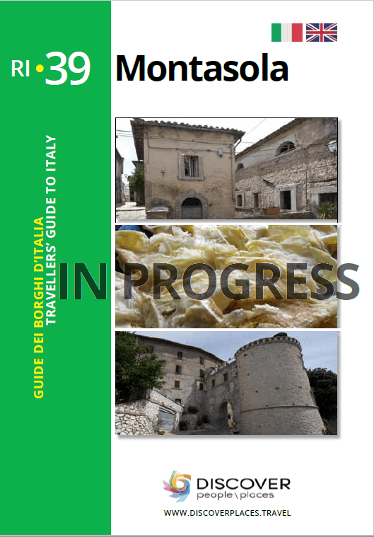 Guide of Montasola book cover