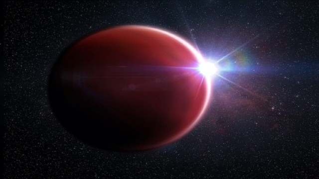 Planet similar to Jupiter but with a cloud-free atmosphere