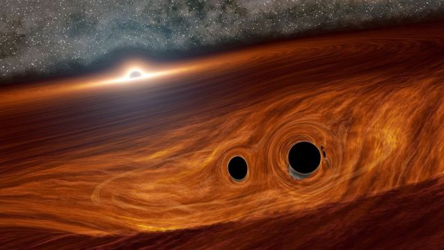 Gravitational Wave Background – Indication to Universe