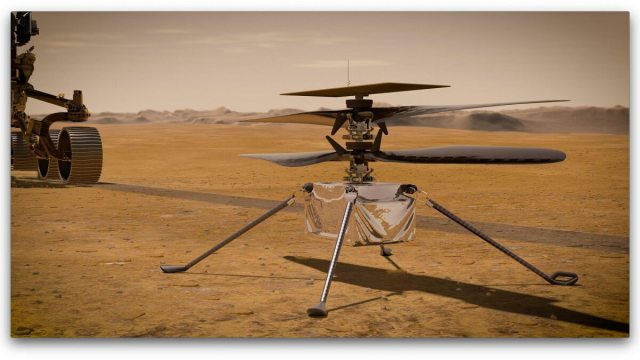 Mars Helicopter is operating as expected and ready to fly