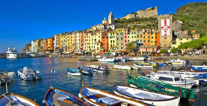 The colors of Portovenere, Liguria
