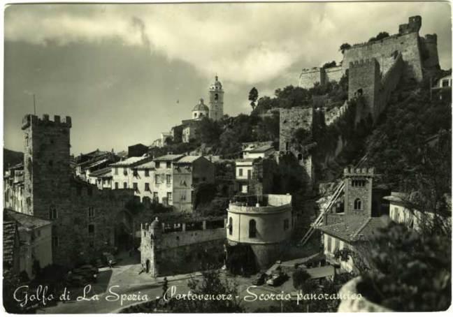 Vintage Portovenere: old postcards of La Spezia Gulf, Liguria