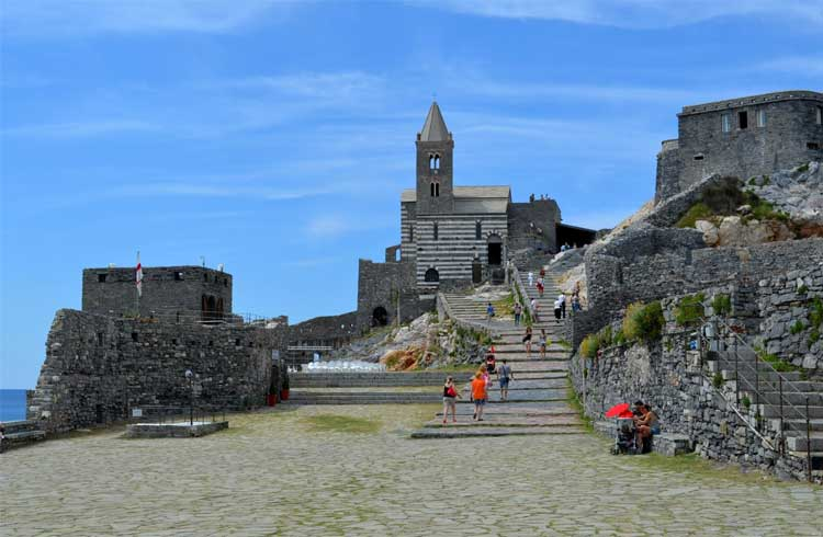 The Church of San Pietro, Portovenere