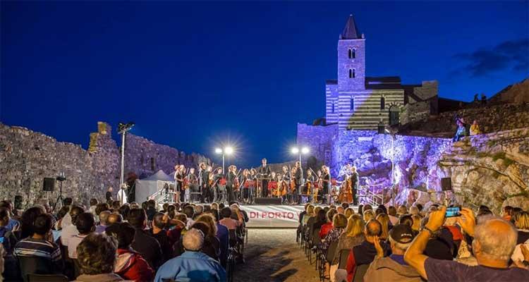 Breathtaking concert in Portovenere, Liguria