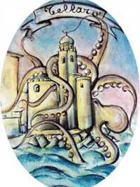 Tellaro and the Octopus - local legend, Liguria