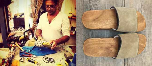 Handmade shoes & clogs in Portovenere