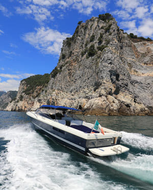 Cinque Terre Motor Boat for rent, hire in Portovenere