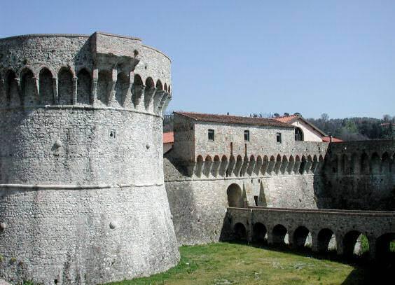 Fortezza Firmafede in Sarzana, Liguria