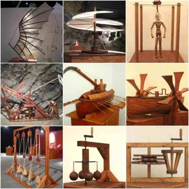 Leonardo da Vinci's Machines